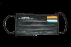 Mascarilla 2 capas con Bandera y Logo